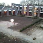 Schoolplein bestrating